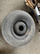 Vintage Massey Wheel & Tyre