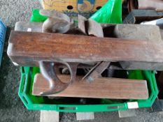 Box: various vintage Tools inc Block Planes