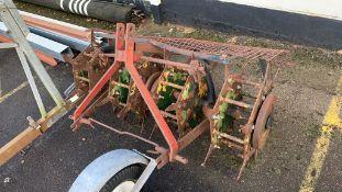 Vintage tractor-mount Slitter