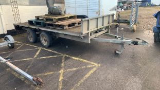 Ifor Williams 12' flatbed Trailer