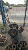 Vintage Villiers Garden Tractor