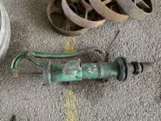 Vintage cast Water Pump