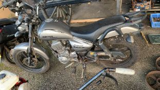 Zantes Moonraker 125-3R Motorcycle 65 reg with log book, sold a/f