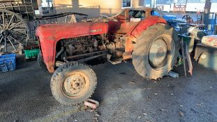 Massey Ferguson MF35Tractor, good genuine barn-find tractor awaiting restoration