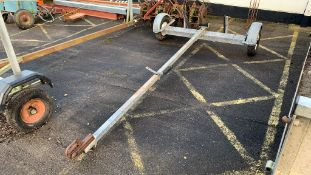 Galvanised Dinghy or Boat Trailer