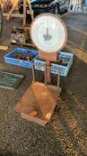 Weighmaster 100lb/45kg Platform Scale