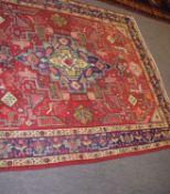 Modern Hamadan carpet, 195 x 150cm