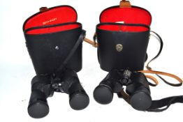 Two binoculars, one Chinon, the second Prinzlux Spacemaster