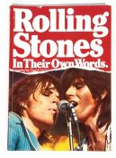 Rolling Stones 'In Their Own Words' book.