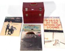 Box of LP Vinyl to include Fleetwood Mac, The Beatles etc.