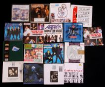 """Small collection of 28 mainly 80's 7"""" box sets and picture discs, including Anthrax, AC/DC, The"""