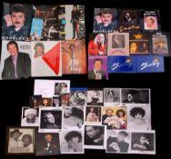 Collection of tour programmes including Michael Jackson 1988 World Tour (with ticket), Elton John '