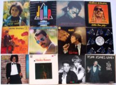 Collection of LP Vinyl to include signed 'The touch of Lena Martell' and signed Carol Lee Scott '