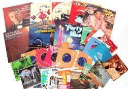 Collection of LP Vinyl and singles.