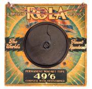 Vintage Rola Speaker.