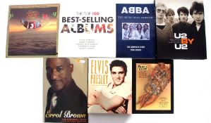 Collection of 7 books to include Elvis Presley: Unseen Archives, Errol Brown: The Farewell Tour,