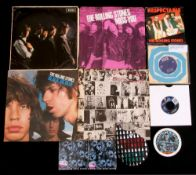 Small collection of Rolling Stones items including 'Exile on Main Street' and limited editions CDs.
