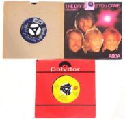 """Small collection of 7"""" to include ABBA 'The Day Before You Came'."""