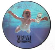 Nirvana 'Nevermind' picture disc.