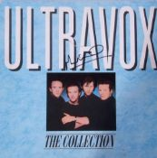 Ultravox LP Vinyl 'Collection of Greatest Hits' signed by Midge Ure.