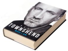 Signed Pete Townshend book 'Who I Am'.
