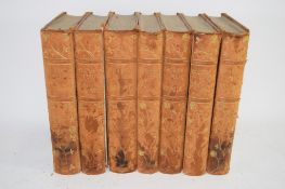 QTY BOOKS ON THE NOVELS OF GEORGE ELLIOTT PUBLISHED BY WILLIAM BLACKWOOD AND SONS