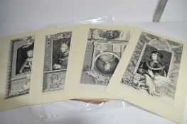 SET OF PRINTS FROM SHAKESPEARE, MIDSUMMER NIGHTS DREAM PUBLISHED BY T STOTTARD, RA, ENGRAVED BY J