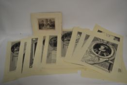 PACKET CONTAINING QUANTITY OF PRINTS MAINLY BY J.HEATH TO INCLUDE SHAKESPEARE MIDSUMMER NIGHTS DREAM