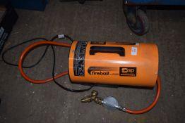 Gas workshop heater