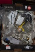 Mixed box of electrical components