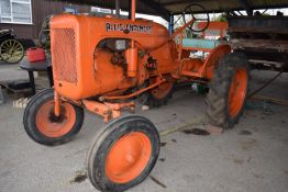 1950s Allis Chalmers model B Tractor, has been subject to a past restoration, good tinwork