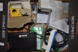 Box of mixed electrical components