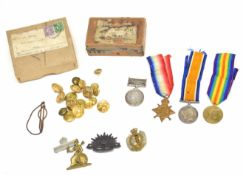 Great War trio comprising of 1914-15 Star, War Medal, Victory medal, impressed to 68352 Sapper F.