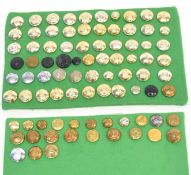 Quantity of Elizabeth II and George V buttons to include Royal Canadian Air Force, New Zealand Air