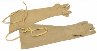 Pair of WW2 British Army anti mosquito gloves