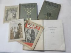 "813b: One box: military interest including THE WAR ILLUSTRATED, 3 issues + THE ""MANCHESTER GUARDIAN"""