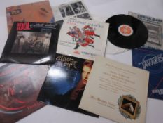 8 LPS including ALISON MOYET: ALF + SURFING DAVE AND THE ABSENT LEGENDS + BILLY IDOL: VITAL IDOL