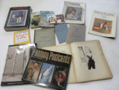 817b: One box: antiques collecting and art interest, 25 titles including THE ILLUSTRATED