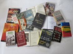 812a: Box of assorted interest, 15 titles including subjects on Afro-American slavery, the law and
