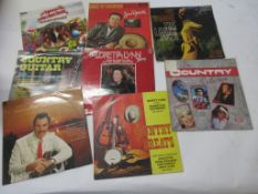 797e: 8 LPS including DICK DAMONE, JIM REEVES, THE COUNTRY COLLECTION, COUNTRY GREATS, LORETTA LYNN,