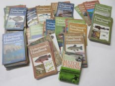 Box of fishing interest including FISHERMEN'S HANDBOOK, approx 100+ issues + 3 others