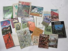 818a: One box natural history interest, 36 titles including DIE NENE ARTHE + birds, gardening, the