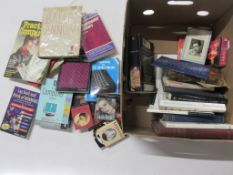 One box of assorted titles including DICKENS: BLEAK HOUSE + THE BALLET ANNUAL 1949 + JOSEPH