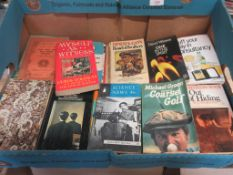 "Three boxes of paperback ""Lucky Dip"" including Penguin + Fontana + Pelican Books"