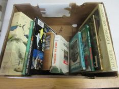 7a: One box: fishing interest, 12 titles including HUNTING AND FISHING, FRESHWATER FISHES, THE