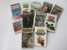 778a: NGAIO MARSH: 11 detective paperback titles mostly 1950s-1970s including FALSE SCENT (2) +