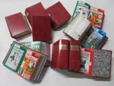 16: Two boxes of BOOK AND MAGAZINE COLLECTOR, March 1984 - July 2004, complete run, 22 bound sets
