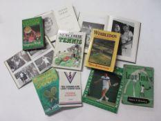 10: 25 titles sport/tennis including IAIN JOHNSTONE: WIMBLEDON 2000
