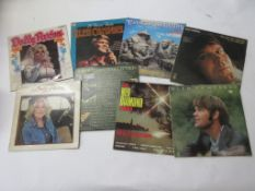 797b: 8 LPS including COUNTRY LEGENDS, NEIL DIAMOND, GLEN CAMPBELL (3), DOLLY PARTON (2), THE SLIM