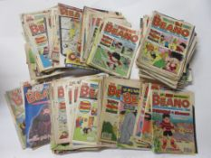One box: BEANO comics, approx 200 issues, 1970s to 1990s